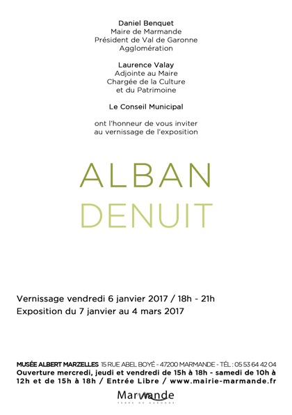 Invitation AD - Verso