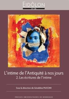 Eidôlon n°130, 2021 - L'intime de l'Antiquité à nos jours (2)