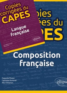 2018, 18 sept. : Copies corrigées du CAPES (composition française, langue française)