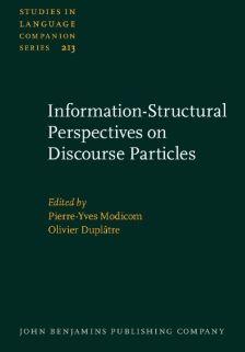 2020_Discourse Particles, P-Y. Modicom, O. Duplâtre (dir.)